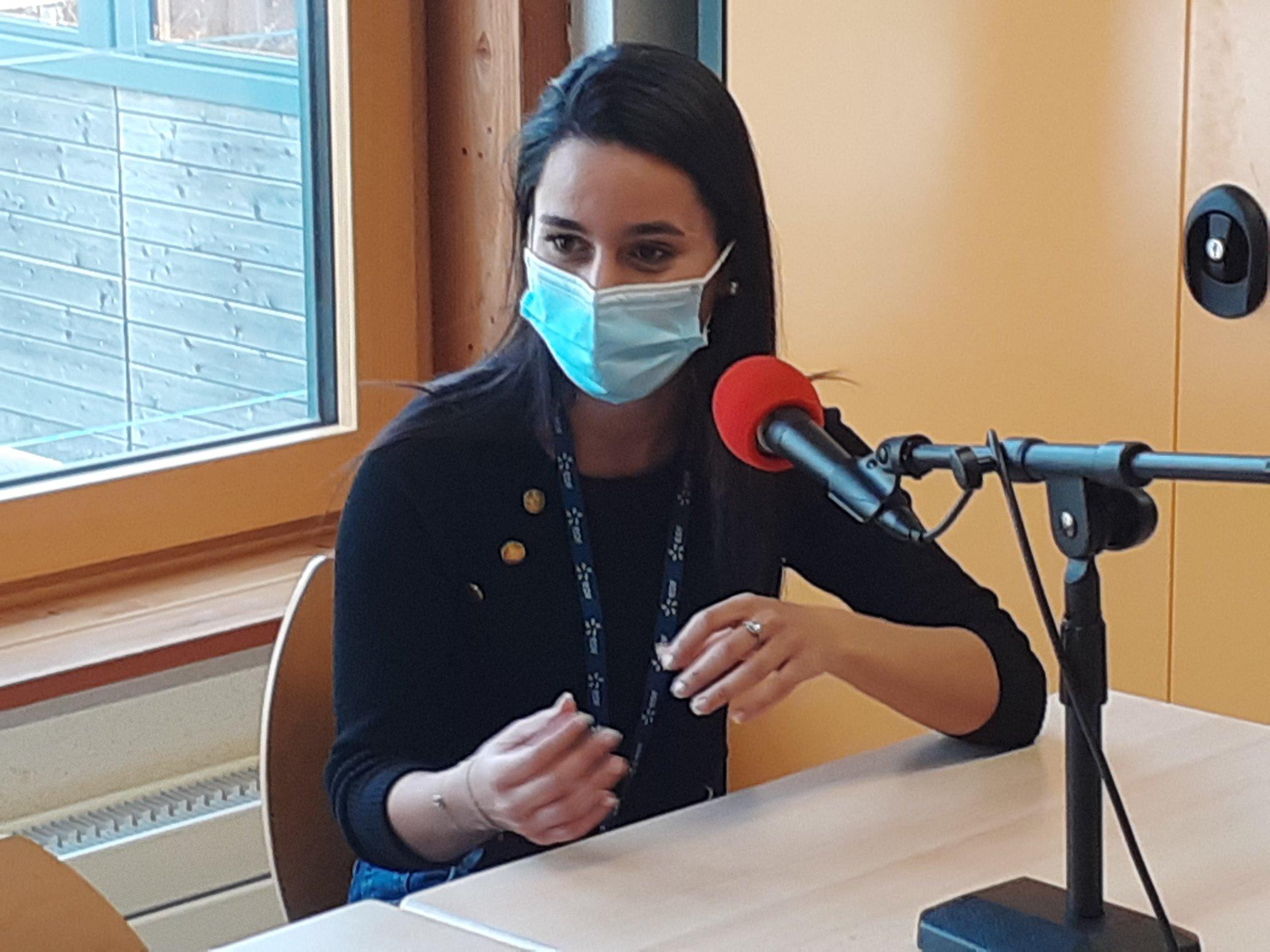 Samia sur Eco Radio