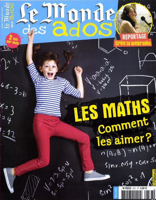 Magazine le Monde des Ados n°337