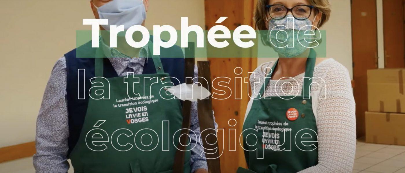 L'école de Saint-Remy remporte le trophée de la transition écologique