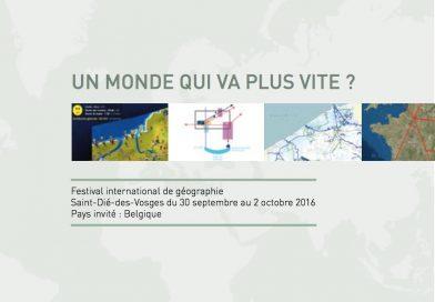 FIG 2016 : enseigner avec le numérique en géographie