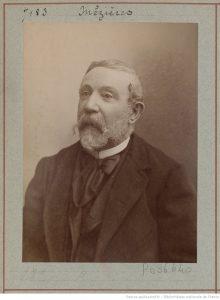 Portrait d'Alfred Mézières en 1875