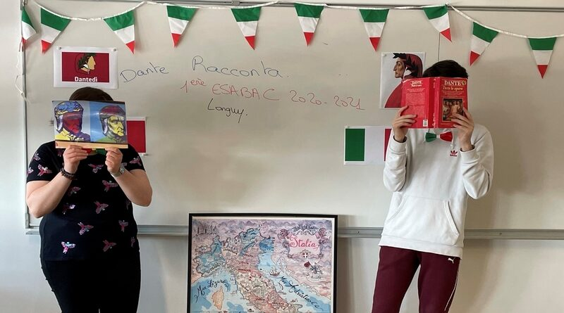 Etwinning en Esabac : Dante et Beatrice raccontano